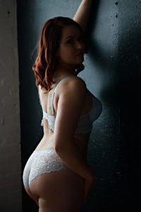 Dark Romantic Boudoir Photography in Grand Rapids Michigan