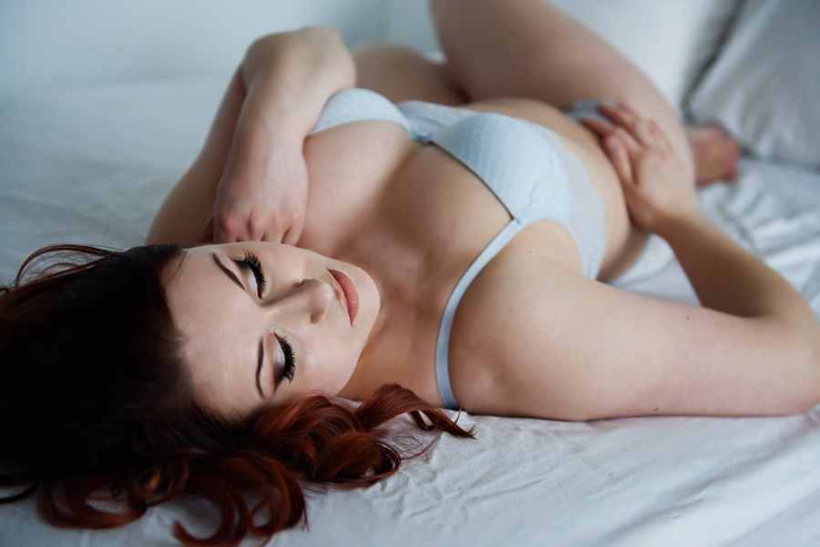 Beautiful Boudoir Photo Shoot in West Michigan