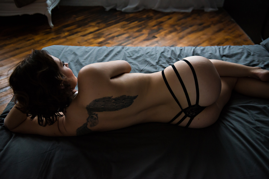 Intimate Boudoir Photo Shoot in Grand Rapids